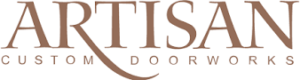 artisan custom doorworks logo