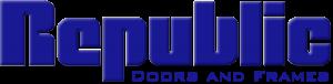 republic doors and frames logo