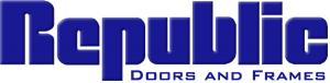 republic doors and frames logo