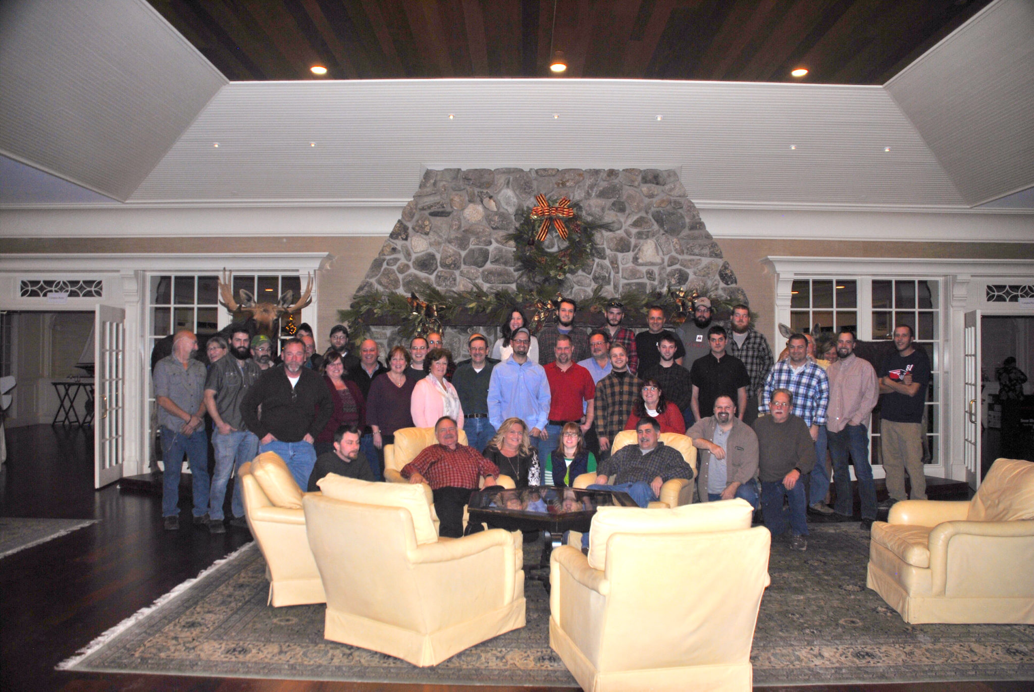 group photo of pdq door family & About PDQ Door - PDQ Door Company Inc.